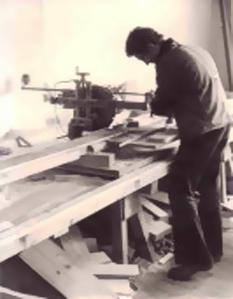 Beginn der Lehre zum Zimmermann August 1976
